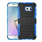 For Galaxy S7 Dark Blue Tire Combination Case with Separable Black Holder