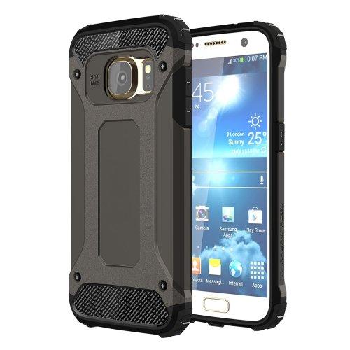 For Galaxy S7 Black Tough Armor TPU + PC Combination Case