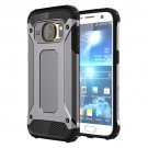 For Galaxy S7 Grey Tough Armor TPU + PC Combination Case