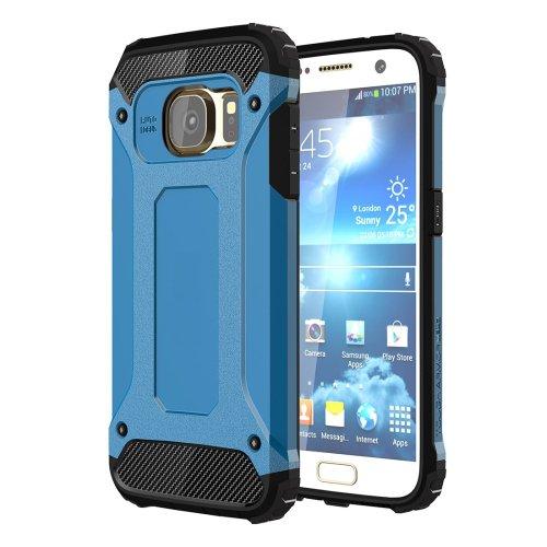 For Galaxy S7 Blue Tough Armor TPU + PC Combination Case