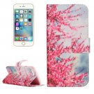 For iPhone 7 Blossom Leather Case with Holder & Card Slots & Wallet