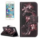 For iPhone 7 Flower Tree Leather Case with Holder & Card Slots & Wallet