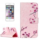 For iPhone 7 Plum Blossom Leather Case with Holder & Card Slots & Wallet
