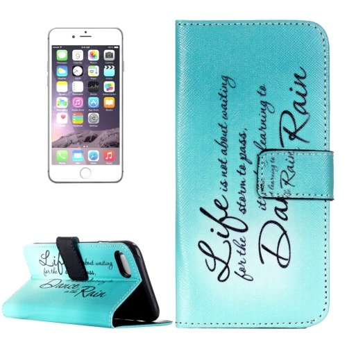 For iPhone 7 Dancing Leather Case with Holder & Card Slots & Wallet