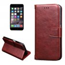 For iPhone 7 Brown Knead Skin Leather Case with Holder, Card Slots & Wallet