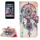 For iPhone 7 Dream Catcher Leather Case with Holder, Card Slots & Wallet