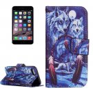For iPhone 7 Wolves Totem Leather Case with Holder, Card Slots & Wallet