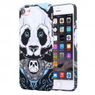 For iPhone 7 Water Decals Cartoon Animal Panda Pattern PC Protective Case