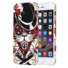 For iPhone 7 Water Decals Cartoon Animal Lynx Pattern PC Protective Case