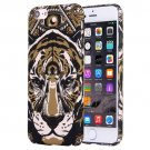 For iPhone 7 Water Decals Cartoon Animal Tiger Pattern PC Protective Case