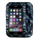 For iPhone 7 Camouflage LOVE MEI Dustproof Shockproof Anti-slip Metal Case