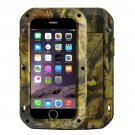 For iPhone 7 Jungle LOVE MEI Dustproof Shockproof Anti-slip Metal Case