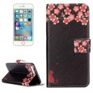 For iPhone 7 Plus Blossom Flip Leather Case with Holder & Card Slots & Wallet