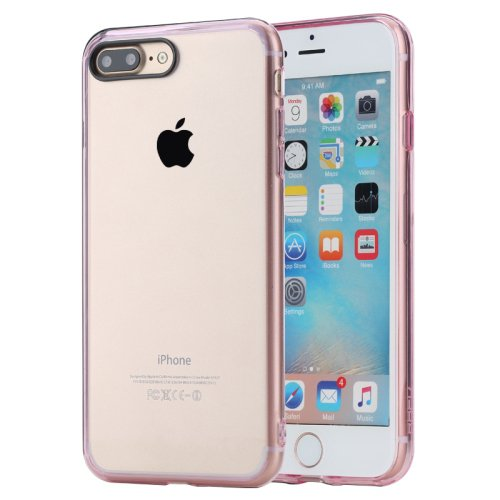 For iPhone 7 Plus Pink Rock Pure Concise Style Ultrathin Combination Case