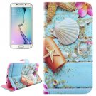For Galaxy S6 Edge Starfish Leather Case with Holder, Wallet & Card Slots