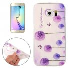 For Galaxy S6 Edge Dandelion Pattern TPU Protective Case