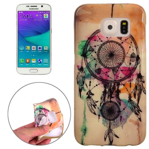 For Galaxy S6 Edge Dreamcatcher Pattern TPU Protective Case