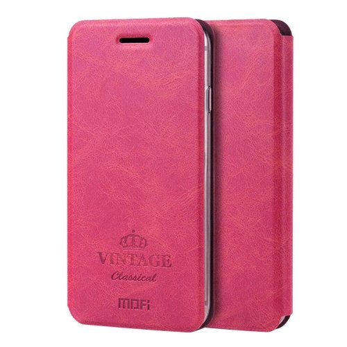For iPhone 6/6s MOFI Crazy Horse Leather Case with Holder & Card Slots - # Colors