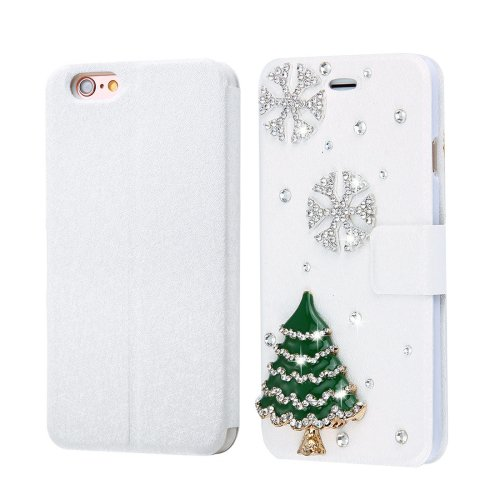 For iPhone 6/6s Fevelove Tree Magnetic Buckle Leather Case with Card Slots