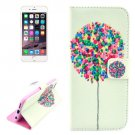 For iPhone 6/6s Balloon Pattern Leather Case with Holder, Wallet & Card Slots