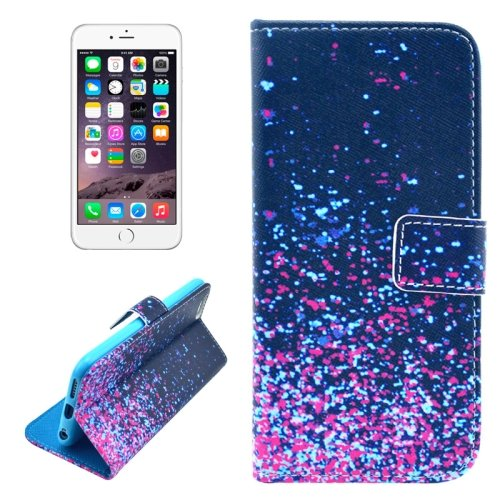 For iPhone 6/6s Stars Leather Case with Holder, Money pocket  & Card Slots