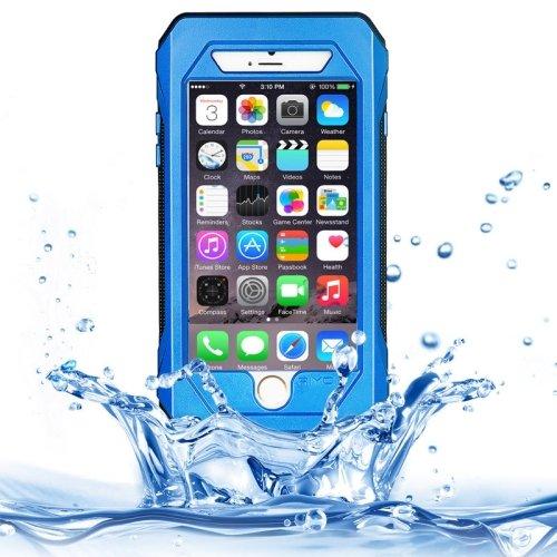 For iPhone 6/6s Blue RIYO IP68 Waterproof Shockproof Dustproof Snowproof Case