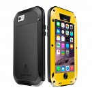 For iPhone 6/6s Love Mei Yellow Metal Ultra-thin Waterproof Dustproof... Case