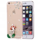 For iPhone 6/6s Fevelove Diamond Boots Protective Case Back Cover
