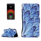 For LG X Power Dazzle PU Leather Case with Holder, Card Slots & Lanyard