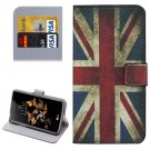 For LG K5 UK Flag Leather Case with Holder, Card Slots & Wallet