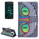 For LG V10 Cheshire Cat Pattern Leather Case with Holder, Card Slots & Wallet