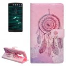 For LG V10 Dreamcatcher 2 Pattern Leather Case with Holder, Card Slots & Wallet