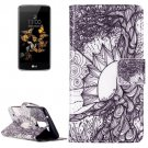 For LG  K8 Tree of Life Flip Leather Case with Holder, Card Slots & Wallet