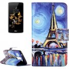 For LG  K8 Tower Flip Leather Case with Holder, Card Slots & Wallet
