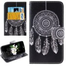 For LG  K7 Windbell Flip Leather Case with Holder, Card Slots & Wallet