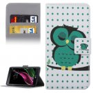 For LG  G5 Owl Pattern Flip Leather Case with Holder, Card Slots & Wallet