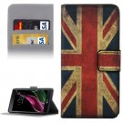 For LG  G5 UK Flag Pattern Flip Leather Case with Holder, Card Slots & Wallet