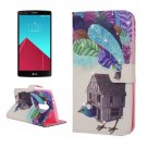 For LG G4 Peacock Diamond Leather Case with Holder, Card Slots & Wallet