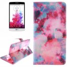 For LG G3 mini Clouds 2 Side Pattern Leather Case with Holder, Card Slots & Wallet