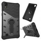 For LG X Power Black Rotating Tough Armor TPU + PC Combination Case & Holder