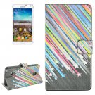 For Galaxy Note 4 Star Pattern Flip Leather Case with Holder & Card Slots