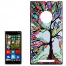 For Lumia 830 Abstract Tree Painting Pattern Hard Case