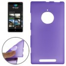 For Lumia 830 Purple Double Frosted TPU Case