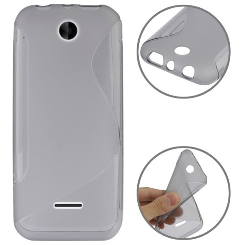 For Nokia 225 Grey S Line Anti-skid Frosted TPU Case