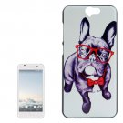 For HTC One A9 Bulldog Pattern PC Protective Case