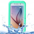 For Galaxy S6 Green IPX8 Waterproof PVC Case with Touch Responsive Front