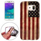 For Galaxy S6 USA Flag Pattern TPU Protective Case