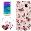 For Galaxy S6 Floral Pattern TPU Protective Case