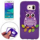 For Galaxy S6 Owl Pattern TPU Protective Case