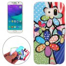 For Galaxy S6 Flower Pattern TPU Protective Case